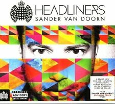 Sander Van Doorn - Headliners (2xCD) SEALED Nicky Romero John Dahlback Alter Ego