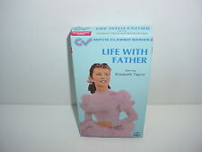 Life With Father VHS Video Tape Movie Elizabeth Taylor