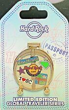 Hard Rock Cafe Myrtle Beach Pin Global Traveler Series Suitcase 2017 New # 94841