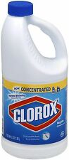 Clorox Regular Concentrated Bleach 64 oz (Pack of 5)