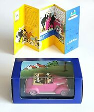 Car Car Tintin Atlas N° 69 The Cabriolet Of Dupondt Box Certificate