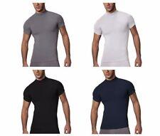Kurzarm Herren-Freizeithemden & -Shirts mit Stehkragen in normaler Größe