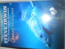 STEVE IRWIN THE CROCODILE HUNTER OCEANS DEADLIEST DVD STEVES LAST DOCO