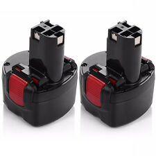 2X BAT048 9.6V Rechargeable Battery for Bosch PSR 960 2 607 335 272 32609-RT