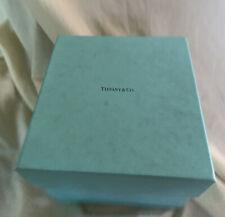 "Tiffany & Co Empty Gift Box, vintage 1985, 7"" x 8""."
