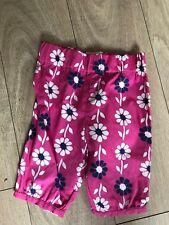 Diseñador Ganga cometa prendas de vestir Floral Leggings Edad 6/12m
