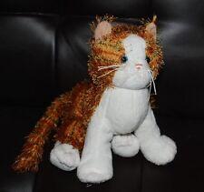 "Ganz Webkinz Striped Alley Cat HM042 Plush Stuffed Animal Toy HTF 8"" NO TAGS"