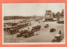 More details for the front esplanade weymouth charabanc motor car rp pc 1927   ah275