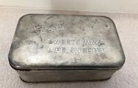 "Vintage Pascall ""Sweets Make Life Sweeter"" Tin"