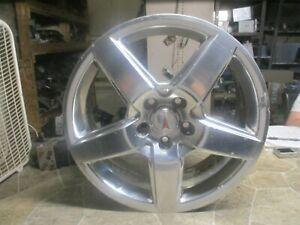 2008 PONTIAC TORRENT Wheel RIM STOCK 18x7 OEM ASSEMBLY 5 SPOKE WITH CAP SILVER