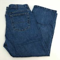 Faded Glory Denim Jeans Mens 40X30 Blue Straight Relaxed Fit Cotton Medium Wash