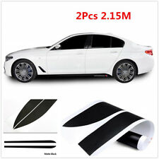 Pair 2.15M Sport M Performance Car Side Skirt Body Decal Stripe Stickers For BMW