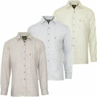 MENS CHAMPION TATTERSALL COUNTRY CHECK SHIRTS FISHING HUNTING SHOOTING PLUS SIZE