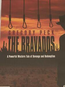 The Bravados  Gregory Peck  Joan Collins, Stephen Boyd DVD Like New