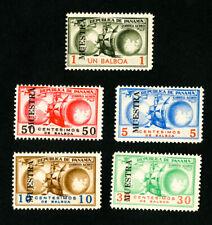 Panama Stamps FVF OG LH Rare Colombia Specimen Set