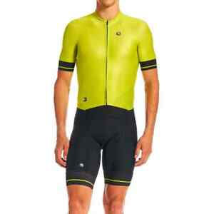 Giordana Cycling Doppio Suit S/S FR-C PRO|Men-Lime Punch|BRAND NEW
