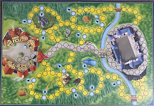 Game Parts Pieces Enchanted Forest Ravensburger 1994 Gameboard Only