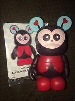 DISNEY VINYLMATION 3 CUTESTERS 1 One Red Lady Bug Ladybug