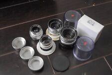 Schneider Kreznach DKL mount lenses 28mm,35mm,50mm and 85mm