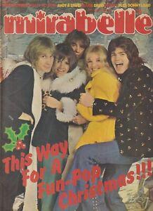 MIRABELLE (29 Dec 1973) New Seekers Donny Osmond Simon Turner