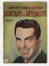 [AD11] I GRANDI CINE-ROMANZI ILLUSTRATI N. 182 SEGRETARIO A MEZZANOTTE MURRAY