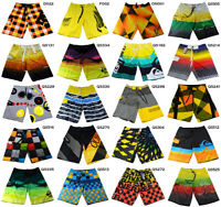 Mens Summer Beach Boardshorts Quick Dry Swim Trunks Surfing Shorts Size 30-38