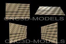 3d Stl Models For Cnc Artcam Aspireusa Flagunited States Of America Flagaf7
