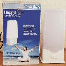 Verilux Happy Light 6000 Energy Lamp Natural Light Therapy in Box