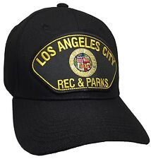 City Of Los Angeles Rec & Parks Hat Color Black Adjustable