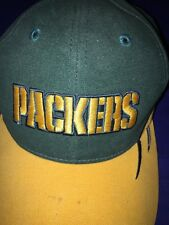 Green Bay PACKERS Football SPL 28 Velcro Back NFL Cap Hat One Size Embroidered