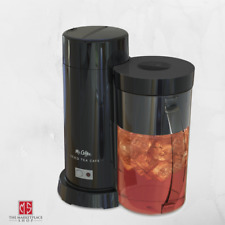 Iced Tea Maker Iced Coffee Maker 2 Quart Cold Brew Glass Brewing Machine w/ Lid