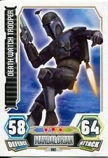 Star Wars Force Attax Series 3 Card #102 Death Watch Trooper