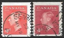 Decimal Used Multiple North American Stamps