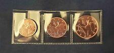 Andorra serie 1 cent, 2 cent en 5 cent 2017