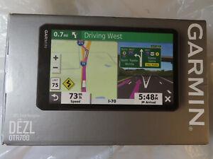 "GARMIN DEZL OTR700 7"" GPS TRUCK NAVIGATOR 010-02313-00 BRAND NEW,SEALED"