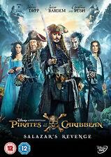 PIRATES OF THE CARIBBEAN SALAZAR'S REVENGE DVD Johnny Depp UK Release New R2