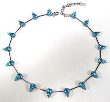 Modeschmuck-Halsketten & -Anhänger aus Strass und Gemischte Metallen mit Tropfen