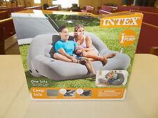 Intex Camp Sofa (Grey 75in.x37in.x34in.)- NEW IN BOX! BOX DAMAGED!