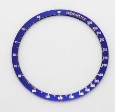 New Bezel Insert Seiko 6138-0030 6138-0031 Kakume chron Blue Tachymeter 6138