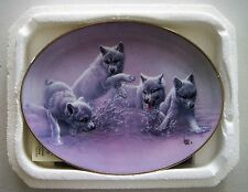 """""""Splash Dance"""" plate from The Wild Bunch collection by Lee Cable"""