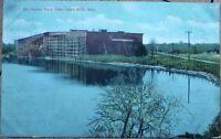 Lake Mills, WI 1910 Postcard: Rock Lake, Ice House - Wisconsin Wis