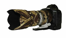 Canon 70 200mm f2.8 L IS Mk2 Camouflage Neoprene lens protection Brown Camo