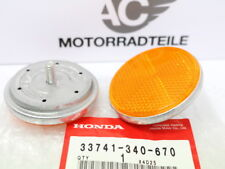 Honda CB 125 S Reflector Side Spotlights Set 2 Pcs. Lamp Holder Original
