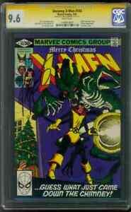 X Men 143 CGC 9.6 SS Claremont Kitty Pryde vs Aliens 3/1981 WP