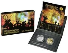2009 ONE DOLLAR & TWENTY CENT PROOF - *ASTRONOMY* TWO COIN PROOF SET