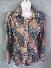 Vintage Fenton Western Blouse Size 14