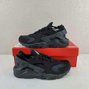 Nike Air Huarache Black Lace Up Running Casual Shoes Trainer Mens Size