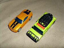 2 Hasbro Transformers Cars-Bumblebee & Ratchet