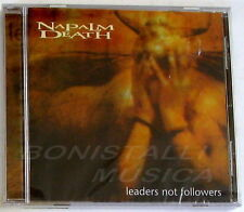 NAPALM DEATH - LEADERS NOT FOLLOWERS - CD EP Sigillato