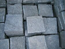 Blue Black Granite Cobbles - Natural - 100 x 100 mm & 200 x 100mm 40-60mm
